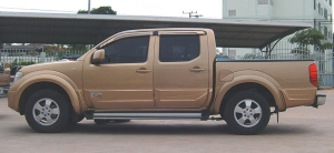 Navara Body Cladding